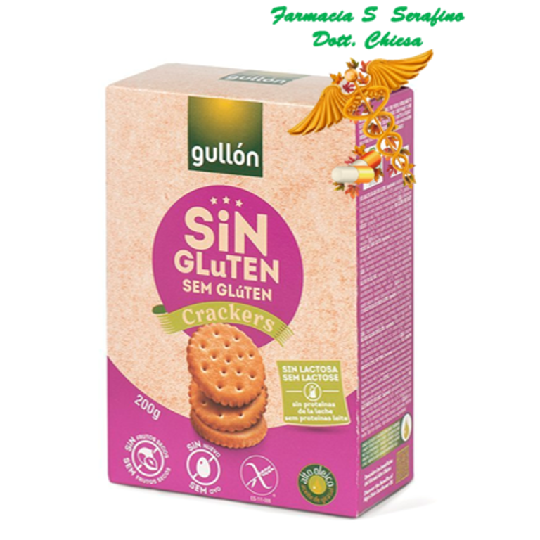 GULLON CRACKERS 200G