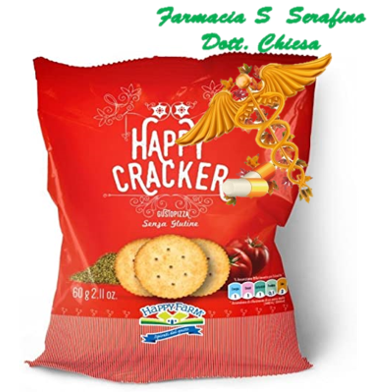 HAPPY FARM CRACKER GRANO SARACENO