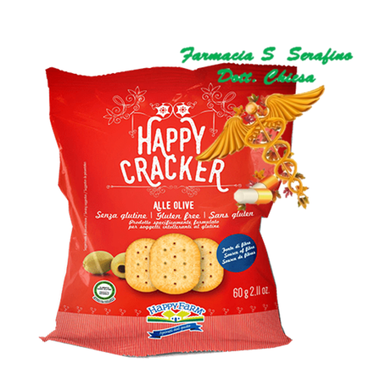 HAPPY FARM CRACKER OLIVE 60G