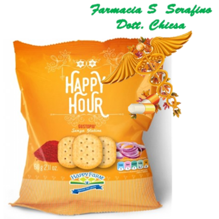 HAPPY FARM HAPPY HOUR GUSTO PIU' 60G