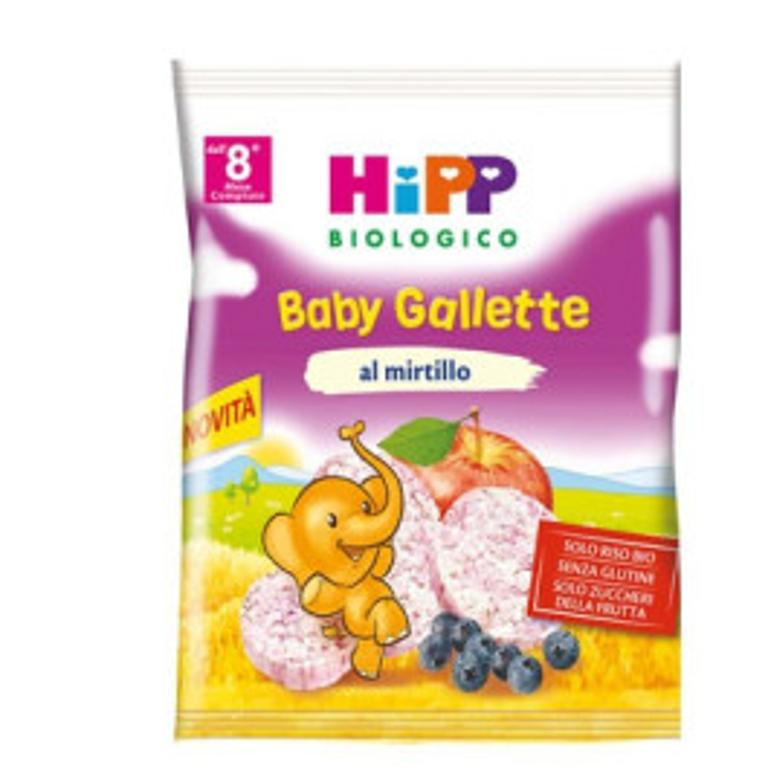 HIPP BIO BABY GALLETTE MIRTILLO 30G