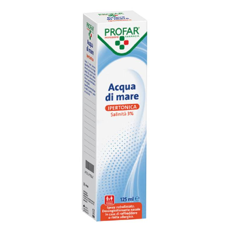 PROFAR ACQUA DI MARE SPRAY IPERTONICA 125ML